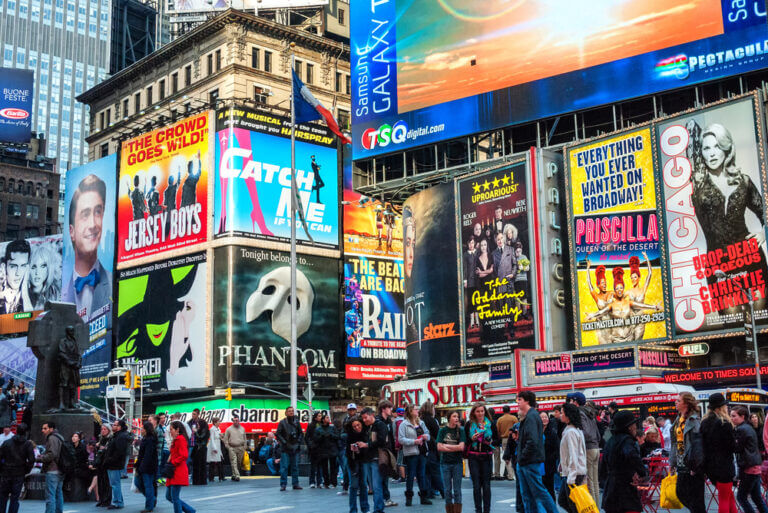 Broadway Shows i New York