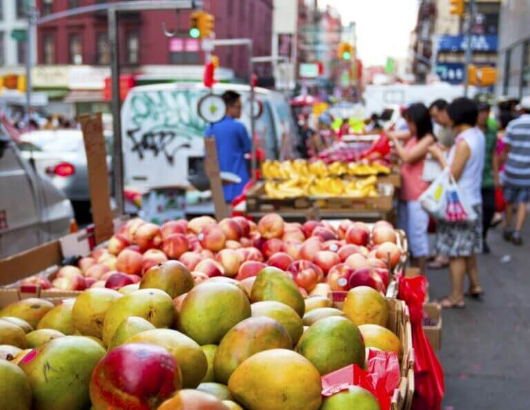Markeder i New York