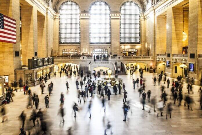 Grand Central Station, Manhattan, New York.