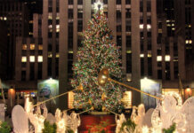 Rockefeller Center Juletræ 2019 New York