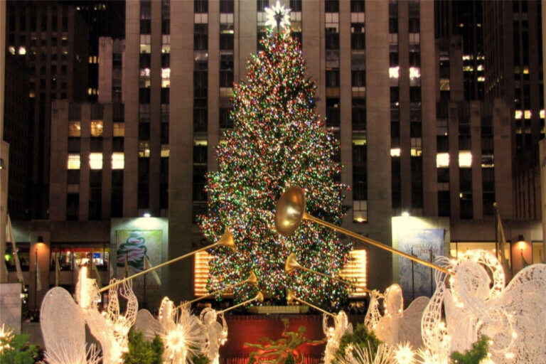 Rockefeller Center Juletræ 2019